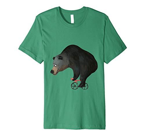 Rennrad Grizzly Brauner Bär Radsport T Shirt Geschenk -