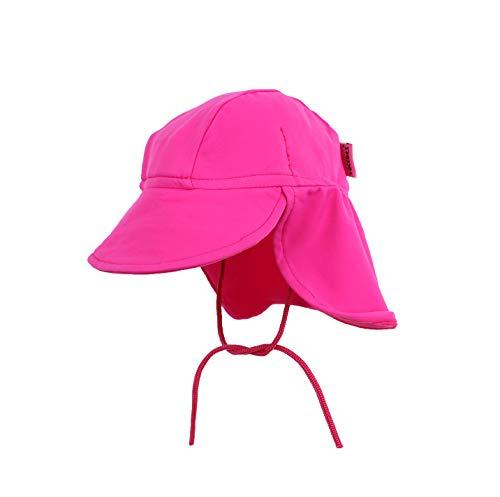 Yoccoes - Chapeau anti UV - Bébé (fille) rose 3 à 9 mois