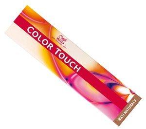 Wella Color Touch Rich Naturals 8/81 - Light Pearl Ash Blonde Semi-Permanent Hair Colour / Tint 60ml Tubes by Color Touch (Blonde Pearl Natural)