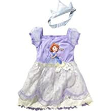 Disney Princesa Sofía niñas incluye vestido con conjunto de camisón transparente con corona * Licencia Disney mercadería * 100% poliéster * Para las niñas edad 18–24meses