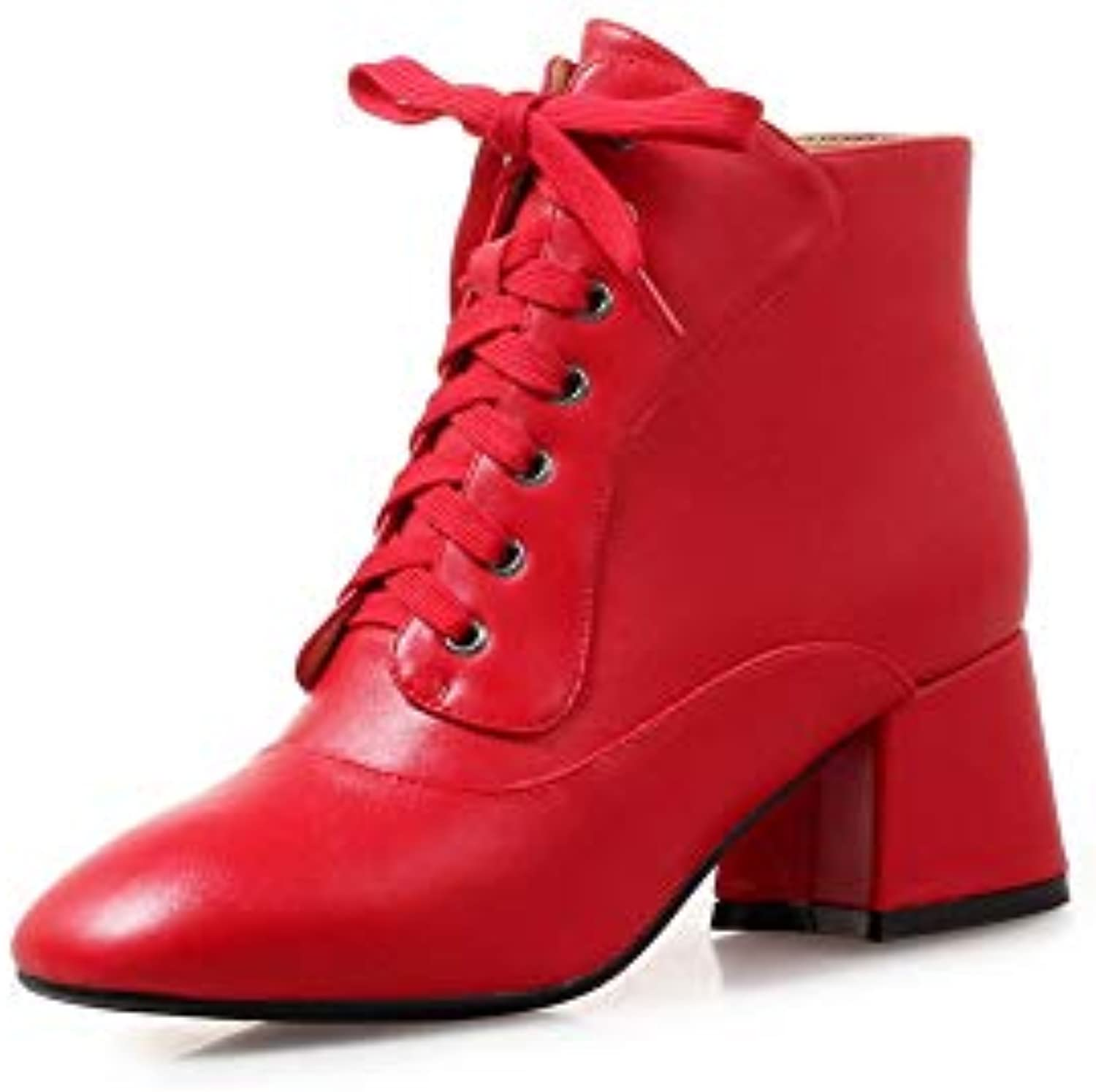 AN DKU02723, Sandali con Zeppa Donna, Rosso (rosso), 35 35 35   Shopping Online  fb7525