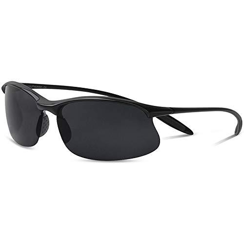 MAXJULI Polarisierte Sport Sonnenbrille Herren Damen Tr90 Unzerbrechlich Rahmen Running Fischerei Baseball MJ8003