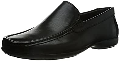 Clarks Men's Finer Sun Black Leather Formals Flats - 10.5 UK