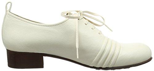 Chie Mihara Gagush, Chaussures à lacets femme Blanc Cassé - Off White (Ibiza Leche)