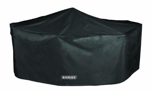 bosmere-d525-storm-black-4-seat-rectangular-patio-set-cover