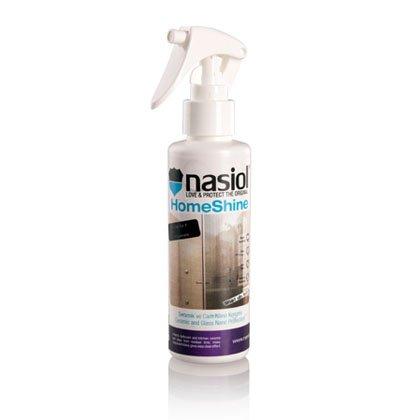 NASIOL HOMESHINE - Protector de líquidos y manchas para las superficies de cerámica y cristal en el hogar...- ¡ Más fácil limpiar y sólo con agua !