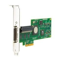 HP 412911-B21 SC11Xe Ultra320 Single Channel/PCIe x4 SCSI Host Bus Adapter (Certified Refurbished)