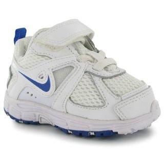 Nike, Jungen Babyschuhe - Lauflernschuhe  BLANC / BLEU - BLANC / BLEU