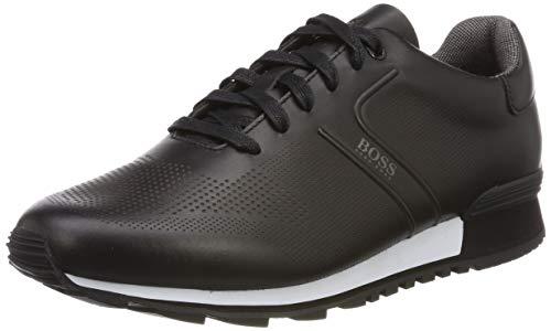 BOSS Herren Parkour_Runn_Ltls Sneaker, Schwarz (Black 001), 44 EU