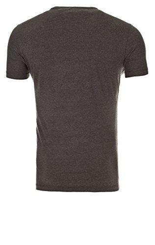 Blend Herren T-Shirt Print Monkey Shirt (70817) pewter mix