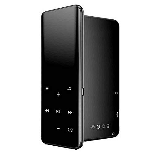 r, Mini-LCD-Touchscreen, Sport-Walkman-E-Book, FM-Radio, Video-HiFi-Musik-Player, Sprachrekorder, 16 G, Erweiterbar, 32 GB, TF-Karte, Schwarz ()