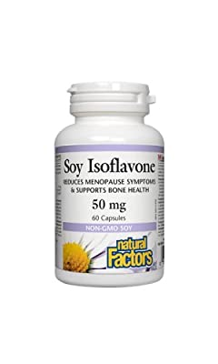Natural Factors Soy Isoflavone Complex (50mg, 60 Capsules)