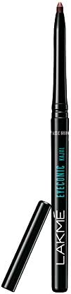 Lakmé Eyeconic Kajal, Classic Brown, Water Proof, Smudge Proof, Lasts Upto 22 Hrs, 0.35 g