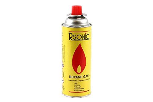 Rsonic Gaskartusche 227g für tragbare Geräte wie Grill , Heizung , Lötlampe oder Campingkocher
