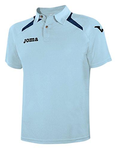 Joma Champion II - Polo para hombre, color celeste, talla XL