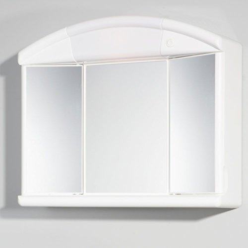 #Spiegelschrank weiß 59 x 50 cm Pharao24#