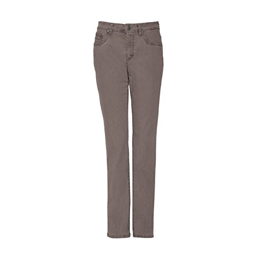 Anna Montana Damen Jeans Monika London - kitt (5) - 46