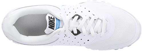 Nike - Revolution EU, Sneakers da uomo bianco (White/Blue Lagoon-Black)