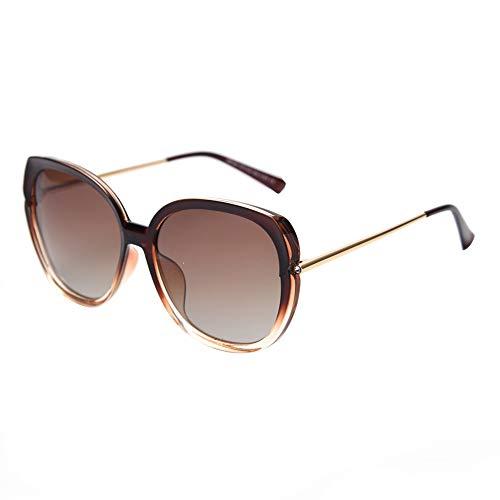 PFMY.DG Sonnenbrille Vintage Sonnenbrille im angesagte mit,Brillen Trends 2019,Brass