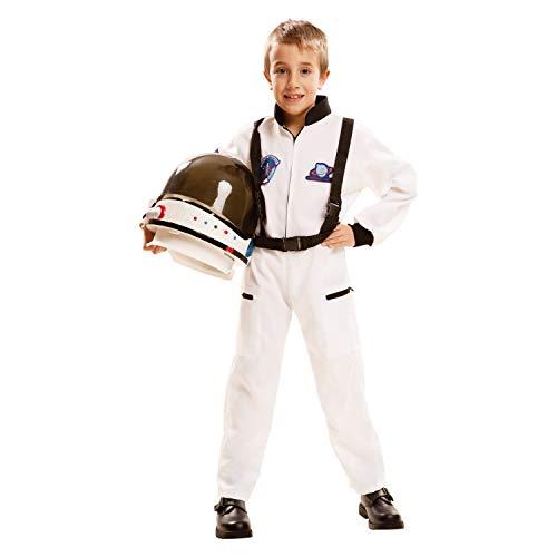 My Other Me Me-202084 Disfraz de astronauta, Color blanco, 7-9 años (Viving Costumes 202084