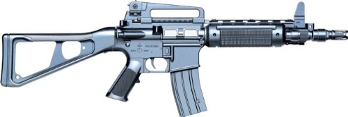 Softair Gewehr 16A8 Federdruck des Herstellers Nick and Ben