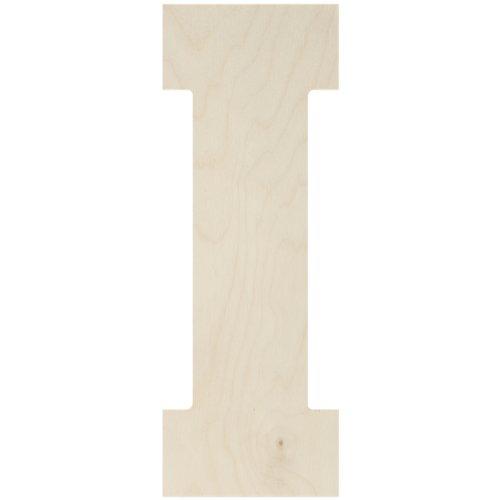 MPI Baltischer Birke Collegiate Schriftart Buchstaben & Zahlen 33cm -i -
