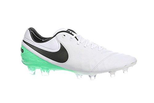 Nike Herren Tiempo Legend Vi (Fg) Fußballschuhe WHITE/BLACK-ELECTRO GREEN
