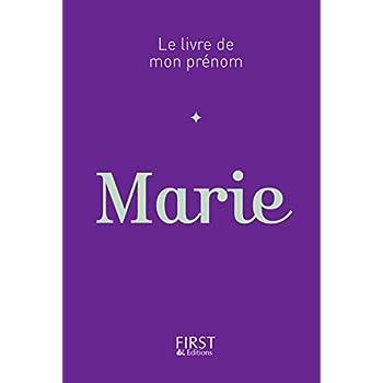01 Le Livre de mon prénom - Marie