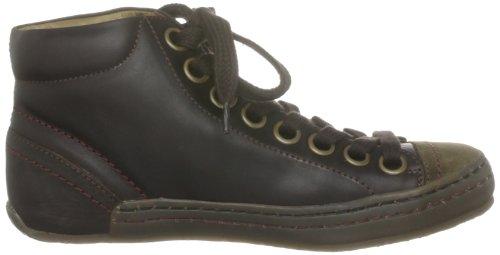 Sneaker Kinder London dark Brown Unisex Braun Fly Stude K OX6WRARaq