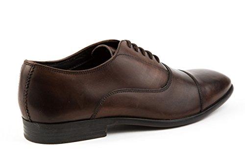 Base London Herren Elegante Schnürer Business Schuhe Gr. 42 Braun NkVbf6
