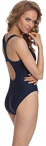 Merry Style Damen Schwimmanzug BD 721 Navy