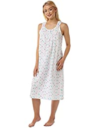 Suzy   Me Women s Feather Print Strappy Nightdress ab2cae702