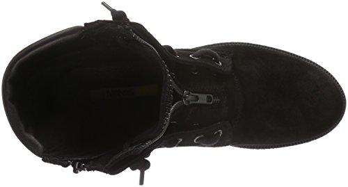 MANAS Damen Sestriere Kurzschaft Stiefel Schwarz (NERO+NERO)