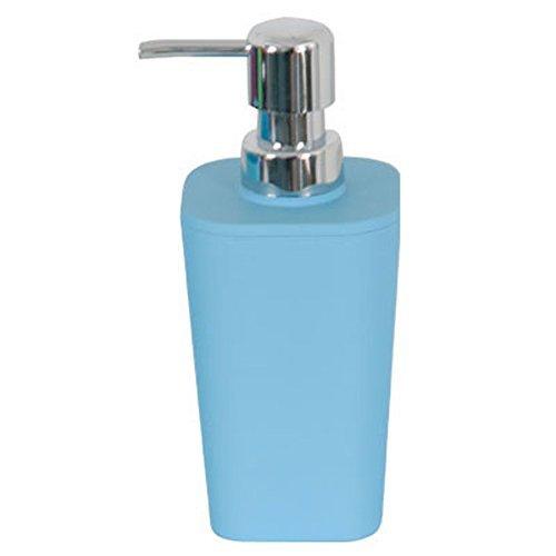 MSV-Soft-Touch-140684-Peach-Skin-dispensador-de-jabn-azul-Metal-73-x-73-x-18-cm