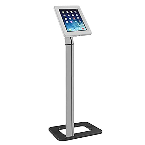 Maclean MC-645 Universal Floor Tablet Stand for Public Displays Lock