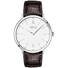 7a00f383ab76 Hugo Boss Hommes Analogique Quartz Montres bracelet avec bracelet en Cuir -  1513646