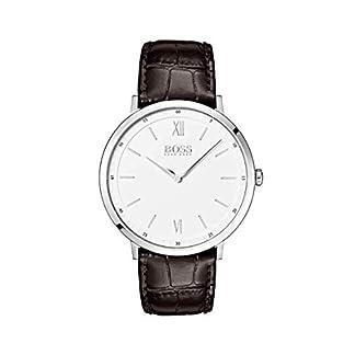 Hugo Boss Reloj Analógico para Hombre de Cuarzo con Correa en Cuero 1513646