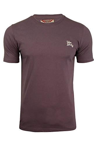 Tokyo Laundry Mens Plain Combed Cotton T-Shirt by Montecarlo' Short Sleeve