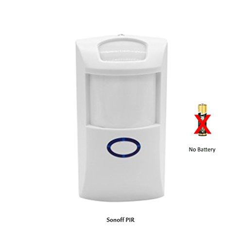 Rf-sensor (Sonoff PIR2 PIR Sensor 433 Mhz RF PIR Sensor Smart Home Alarm Sicherheit Infrarot Menschlichen Körper Sensor)
