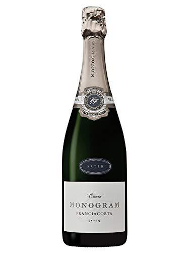 SATÈN Franciacorta DOCG - Monogram - Vino bianco spumante - Bottiglia 750 ml