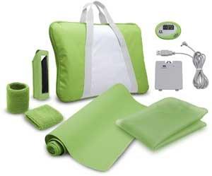 BigBen Interactive Green Premium Pack Fitness Wii Fit, Zubehörset für Nintendo Wii