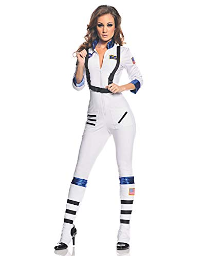 Horror-Shop Spacegirl Astronautin Faschingskostüm ()