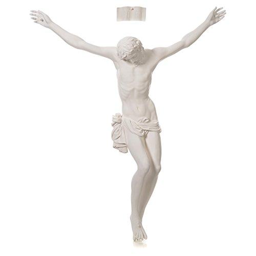 Holyart Schild Kruzifix Fiberglas, 90-120 cm, 90 cm (35.46 inc.)