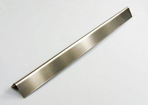5 x Edelstahl Aromaschienen 'Grillclub' für Weber SPIRIT 310 320 ab Baujahr 2013 / 387 x 67 Gasgrill Flammenverteiler Brennerabdeckung