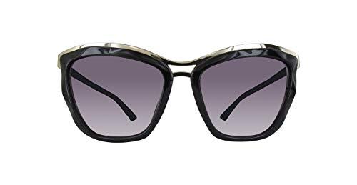 Swarovski sk0116-01b-schwarz occhiali da sole, nero (schwarz), 56.0 donna