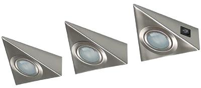 XQ-lite Halogen Kücheneinbauspots, 3er-Pack, G4 [20 Watt], 12 Volt XQ0808 von Ranex GmbH auf Lampenhans.de
