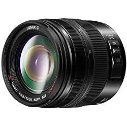Panasonic Lumix Objectif Zoom Standard pour capteur micro 4/3 12-35mm F2.8 H-HSA12035E (Grand angle 12mm, F2.8 constant, Stabilisé, Tropicalisé, equiv. 35mm : 24-70mm) Noir - Version Française