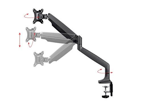 Verstellbare Gas Spring Desk Mount für 15~ 34in Monitore (Tv Mount Articulating Flat-panel)