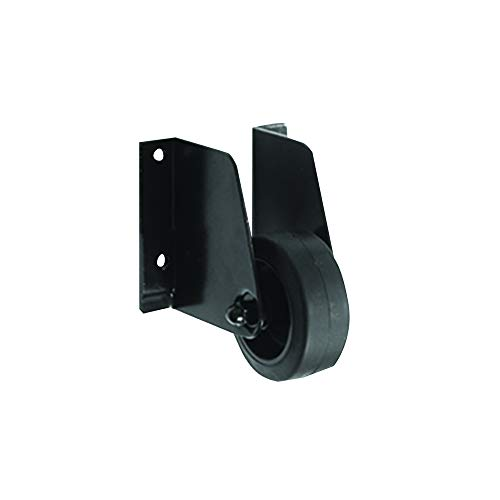 Roulette support de portail - Noir