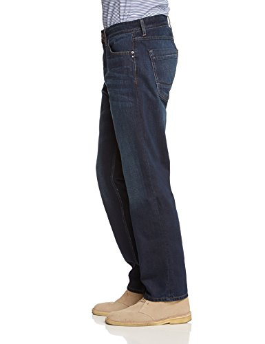 Cross Jeans - New Antonio, Jeans da uomo Blu (Blue Asphalt Wash 005)